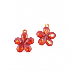 AAP08 - Pandantive floricele mari - set 10 bucati