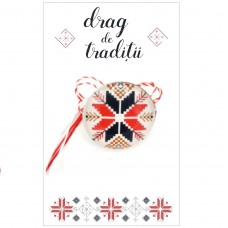 "(ABP06-AT06) Martisor Brosa Motive ""Drag de Traditii"""
