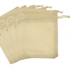 AY30 - Saculet din textil moale - set 10 bucati