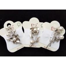 (ABSL05) Brosa eleganta cu perle - set 3 bucati