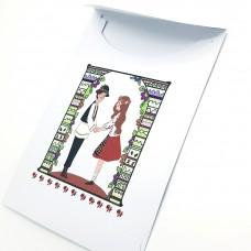 AY10.1 - Punguta hartie Bucurie si Traditii - set 100 bucati