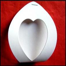 ACA03 Cutiute inima - set 50 bucati