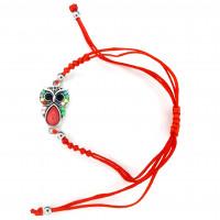 CB22- Bratara Bufnita colorata + Plic cadou
