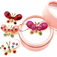 (ABGM11-ACGS01) Martisor brosa Joy Butterfly-in cutiuta