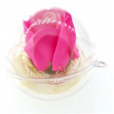 MF02 - Aranjament Trandafir roz in glob