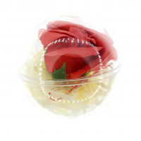 MF01 - Aranjament Trandafir rosu in glob