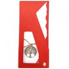 (APS12-ACA09) Martisor pandantiv Copacul Vietii argint tibetan