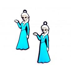APC21 - Martisor Frozen Elsa - set 10 bucati