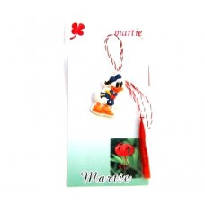 (APC04-AT02)Martisor Donald Duck pe cartonas