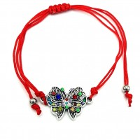 CB24 - Bratara Fluturas colorat + Plic cadou