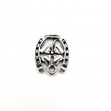 APS18 - Pandant Potcovita argint tibetan-set 5 bucati
