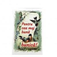 BC01.2-AY10 Martisor brosa Cea mai buna Bunica + Plic cadou