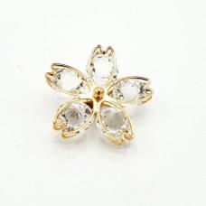 ABGS43 - Brosa Floare din cristale - set 5 bucati