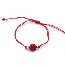 (B12)B12 -  Bratara pandant rosu + Plic cadou