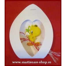 (APC02-ACA03)Martisor Tweety in cutiuta