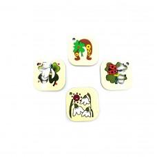 APP07 - Pandant Desen Traditional - set 10 bucati